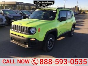 2017 Jeep Renegade 4X4 SPORT