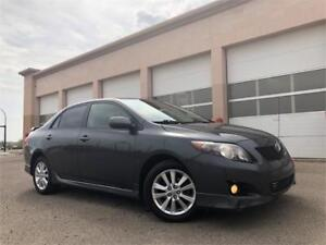 2009 Toyota Corolla S 185K = SUNROOF = LOADED = REMOTE STARTER