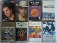 A-Z GABRIEL E HARRIS E JAMES MADNESS OLDFIELD RONSTADT TEARDROP X TURNER PRERECORDED CASSETTE TAPES