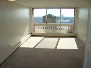 9th Floor 1 Bdr. Downtown with Gym, Sauna, Pets, & Parking!