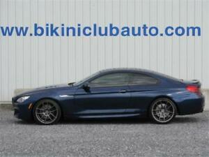2013 BMW 650 xdrive F13 V8 M PACKAGE TWIN TURBO 58 000 KM