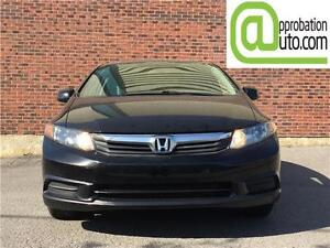2012 Honda  Civic EX À PARTIR DE 41$ SEM 100% APPROUVÉ