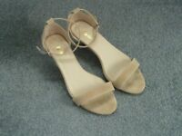 Nude Sandals, Size 7