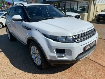2014 Land Rover Range Rover Evoque LV MY15 ED4 Pure White 6 Speed Manual Wagon Port Macquarie Port Macquarie City Preview