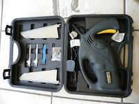 NutoolHandy Power Multi Saw/Jig SawHp 480In Plastic Carry Case ,Unused.