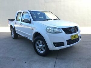 2012 Great Wall V240 K2 MY12 Utility Dual Cab 4dr Man 5sp 4x2 1000kg 2.4i Manual Utility Villawood Bankstown Area Preview