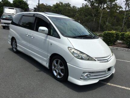 2004 Toyota Estima /Tarago T Aeras S White 4 Speed Automatic Wagon