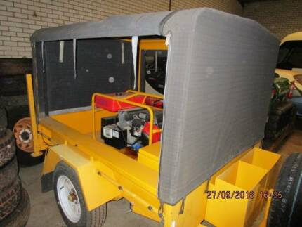 Genset, trailer mounted  9kva 2014 as brand new Midvale Mundaring Area Preview