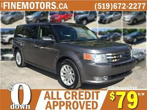 2010 FORD FLEX SEL * 7 PASSENGER * CAR LOANS FOR ALL CREDIT