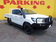 2016 Toyota Hilux GUN126R SR Double Cab White 6 Speed Manual Utility Winnellie Darwin City Preview