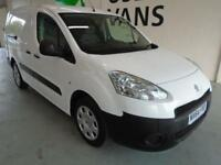 Peugeot Partner L2 716 1.6 92 CREW VAN EURO 5 DIESEL MANUAL WHITE (2015)