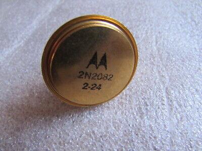 2n2082 Motorola Pnp Germanium Power Transistor Vintage-ic Heavy Gold Plated Nos
