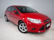2014 Ford Focus LW MKII MY14 Trend PwrShift Red 6 Speed Sports Automatic Dual Clutch Hatchback Mount Gambier Grant Area Preview
