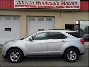 2013 CHEVROLET EQUINOX LT ALL WHEEL DRIVE WE FINANCE ALL Edmonton Edmonton Area image 2