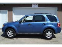 2009 FORD ESCAPE XLT 4-DOOR SUV 4CYL FWD 201K ONLY $7,875.