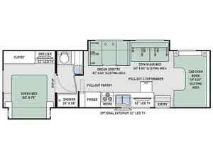 WOW!!! Rental Chateau 31' C Class Motor home with 2 Slides.