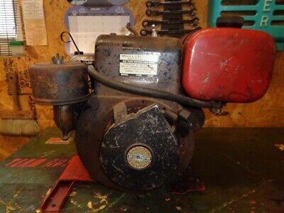 Vintage Briggs Stratton Model 170407. 7 Hp Horizontal Shaft Electric Start