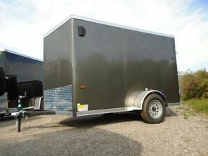 GREAT PRICE, GREAT TRAILER! - 6X10 HAULIN WITH WEDGE NOSE London Ontario image 3