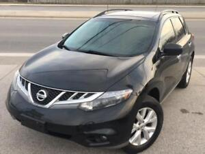 2012 Nissan Murano SL LEATHER/SUNROOF/BACK UP CAM *ACCIDENT FREE