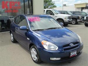 2008 HYUNDAI ACCENT  ! ONLY 112 KM'S ! SUNROOF ! WE FINANCE !
