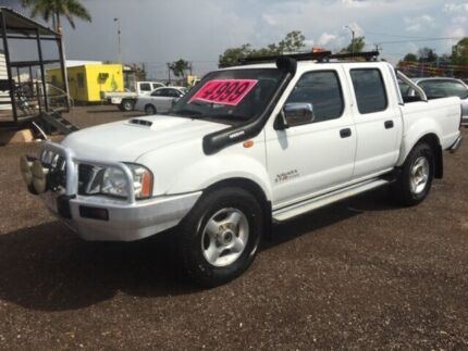 2011 Nissan Navara D22 ST-R White 5 Speed Manual Dual Cab Holtze Litchfield Area Preview