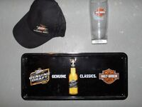 HARLEY DAVIDSON and MILLER GENUINE DRAFT for Cave