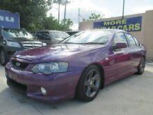 2005 Ford Falcon BA Mk II XR6 Purple 4 Speed Sports Automatic Sedan Greenslopes Brisbane South West Preview