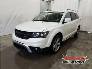 Dodge Journey Crossroad Cuir TV/DVD Toit MAGS 7 Passagers 2017