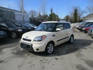 2010 Kia Soul 2u ( 4 ROUES + BLUETOOTH + CLEAN CARPPROOF )