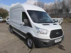 Ford Transit 350 L3 H3 2.2 Tdci 125Ps Van DIESEL MANUAL WHITE (2015)