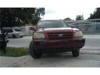 **2004 Toyota Highlander | AUTOMATIC, A/C, LOW KM (140,000)