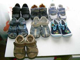 Boys size 4-5 shoe bundle