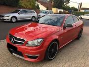 Mercedes-Benz C- Coupe 63 AMG/Pake/ILS/PanoDa/Performance