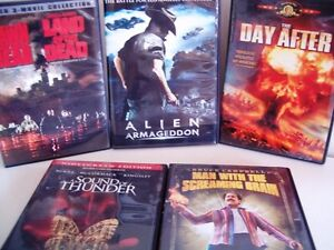 Sci-Fi & Horror movies on DVDs see list
