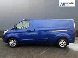 2014 Ford Transit Custom 290 LIMITED LR P/V Diesel blue Manual
