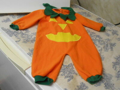 Kids Pumpkin Costumes (Pumpkin Children's / Toddler Halloween One Piece)