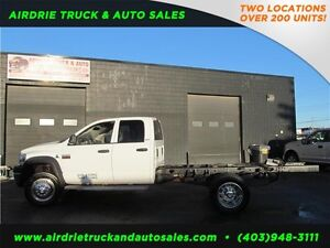 2009 Dodge 5500 Cab And Chassis 4x4 Diesel