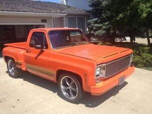 1974 CHEV C-10 CUSTOM STEPSIDE SHORTBOX - 396BB
