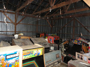 Wanted Arcade Games Any Condition