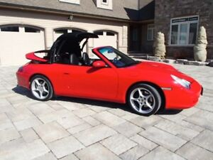 2002 Porsche 911 Cabriolet - 78000 kms from new!