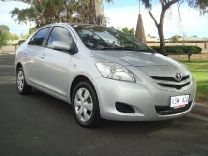 2007 Toyota Yaris NCP93R YRS Silver 4 Speed Automatic Sedan Broadview Port Adelaide Area Preview