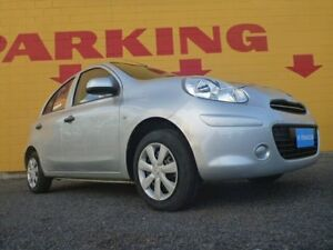 2014 Nissan Micra K13 MY13 ST Silver 5 Speed Manual Hatchback Winnellie Darwin City Preview