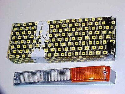 Ferrari Mondial Front Park Lamp Directional Light Lense 3.2 Carello NEW LH OEM