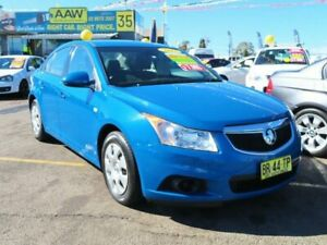 2012 Holden Cruze JH Series II MY12 CD Blue 6 Speed Sports Automatic Sedan