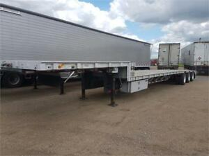 Wilson tri axle combo step deck