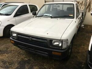 1994 Toyota Hilux RN85R White 4 Speed Automatic Laidley Lockyer Valley Preview
