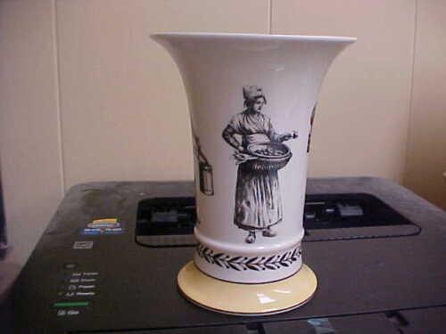 """Villeroy & Boch AUDUN FERME 5 3/4"""" Trumpet Vase Mint NEW"""