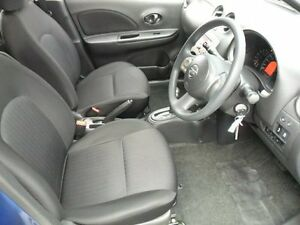 2014 Nissan Micra K13 MY13 ST Blue 4 Speed Automatic Hatchback Five Dock Canada Bay Area Preview