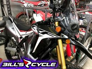 2018 HONDA On Road CRF 250 RLJ   Dual Black