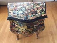 Funky and original Comic Book Chest Of Drawers